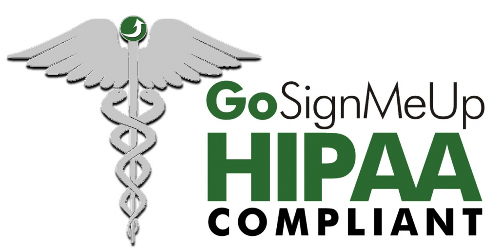 GoSignMeUp is HIPAA Compliant