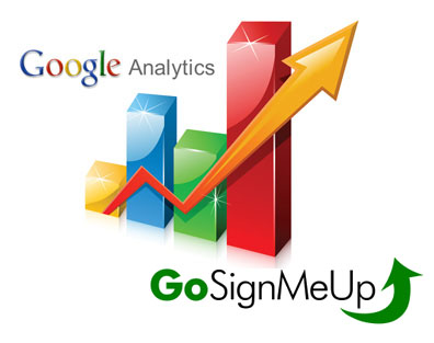 GoSignMeUp Now Allows Google Analytics