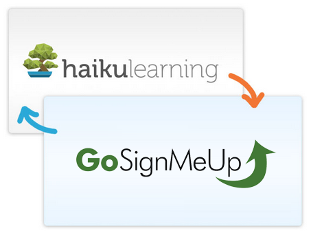 Haiku Learning and GoSignMeUp Partner