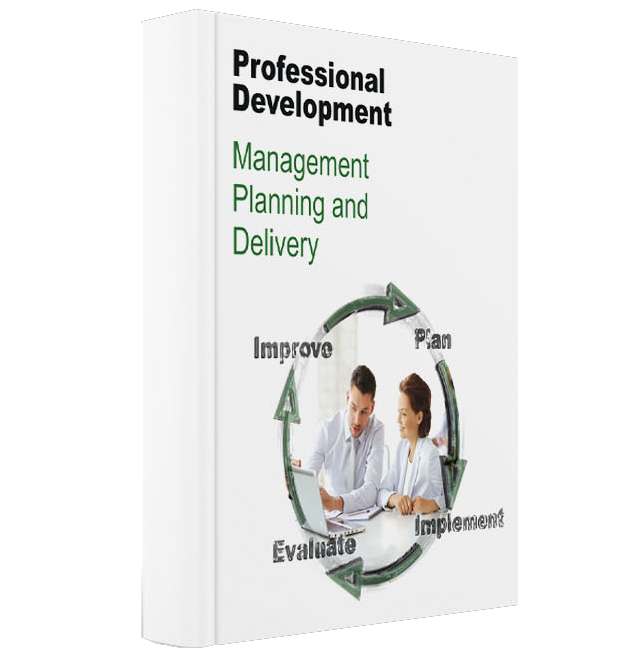 Professional Development-Management Planning and Delivery